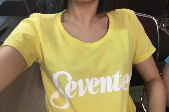 二の腕が細い広瀬すずさん(2016年8月)