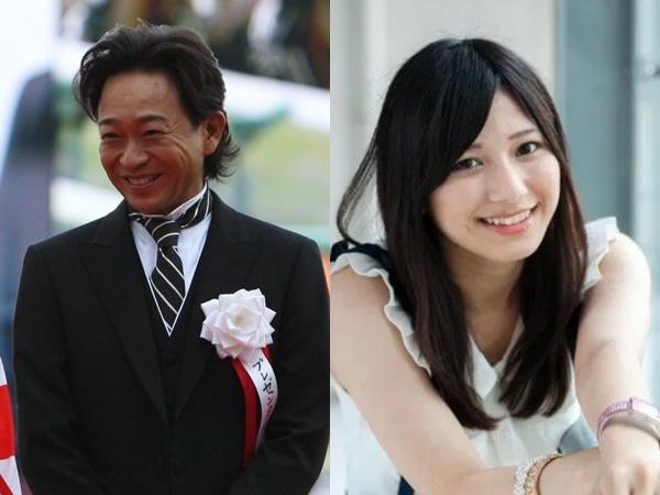 城島茂(48歳)・菊池梨沙(24歳)