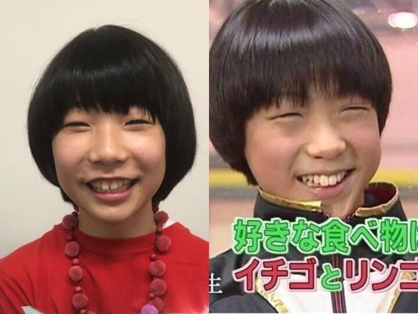 タケルくん・羽生結弦さん(幼少期)