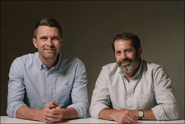 創業者のティム・ブラウン(左)とジョーイ・ズウィリンガー