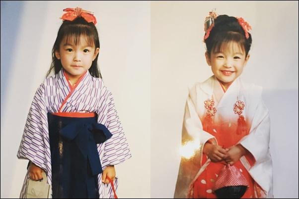 【比較画像】莉々菜(左)、木下優樹菜(右)