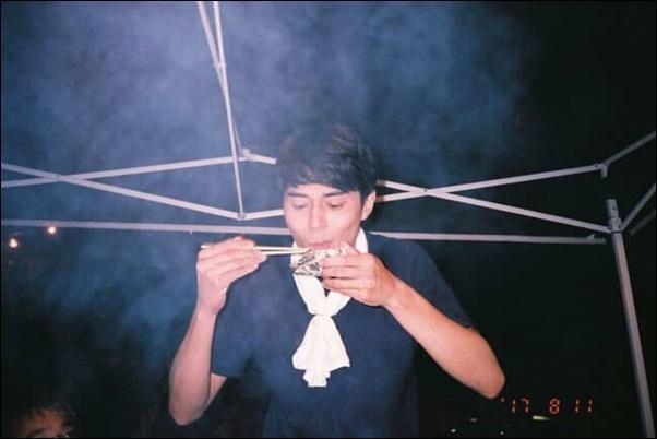 唐田えりかが撮影した東出昌大(2017年8月11日)