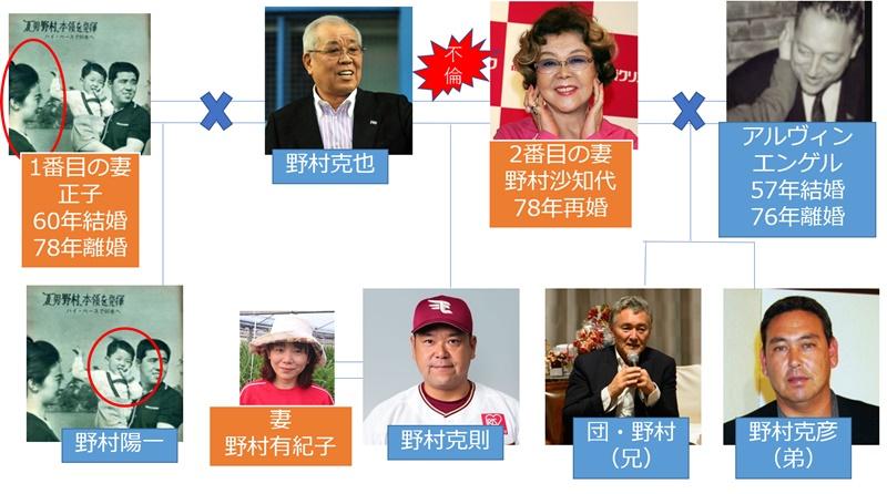 【家系図】野村ファミリー