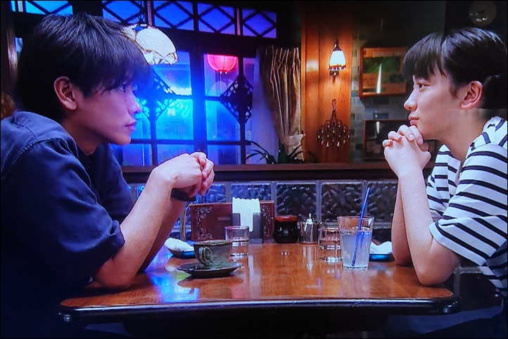 佐藤健・永野芽郁(NHK連続テレビ小説「半分、青い」)